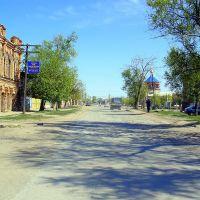 Астраханская область, п. Капустин Яр. Улица Советская., Капустин Яр