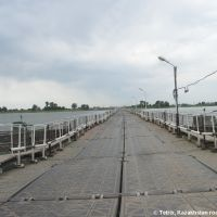 Road Atyrau-Astrakhan ponton bridge, Красный Яр