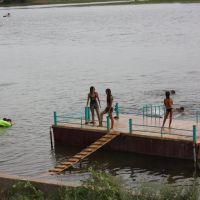 Детский пляж.р Бузан., Красный Яр