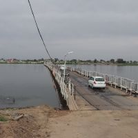 Pontoon Bridge at Krasnyy Yar, Красный Яр