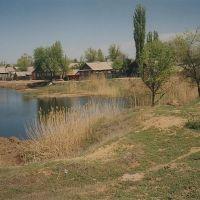 Пруд на Октябрьской улице  /  Pond in Oktyabrskaya Street, Харабали