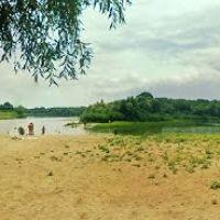 2005 год.    река Ашулук.  Харабали., Харабали