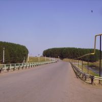 Дорога в сторону районной больницы, Бураево