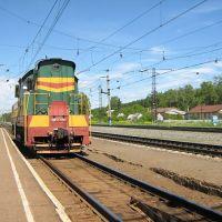 Тепловоз/Disel locomotive, Аксаково