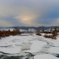 Река Белая. Зима. (White River. Winter.), Белорецк