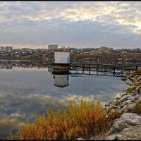 Белорецкий пруд осенью. (2) Beloretsk. Pond in the аutumn., Белорецк