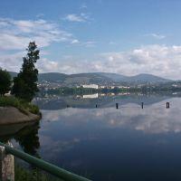 У озера в Белорецке, Белорецк
