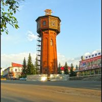 Реконструкция Башни к 250-летию города (Tower reconstruction to the 250th lithium of the city), Белорецк