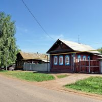 Wooden houses, Бирск