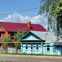 Houses in Mira St., Бирск