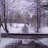Дорога в академию из общежития физмата, Бирск