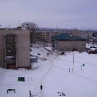 Вид с крыши общежития №4, Бирск