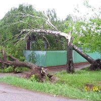 после урагана, Бирск