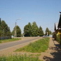 Пересечение улицы Карла Маркса и Мира, Бирск