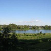 Нижний пруд - Вид с ул. Песочной / Lower Pond - View from Pesochnaya Str., Благовещенск