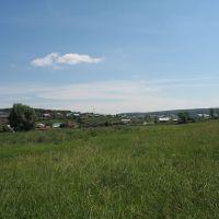 Вид на со стороны реки Ик, Большеустьикинское