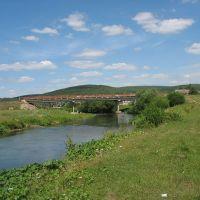Мост через реку Ик, Большеустьикинское