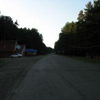 На выезде из села, Большеустьикинское
