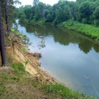 Река Ик, Большеустьикинское
