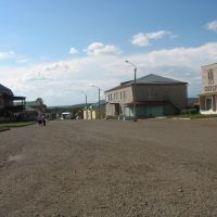 Центр села, Большеустьикинское