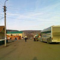 Автобус VDL-НЕФАЗ-52999 (Уфа-Екатеринбург) на автостанции в с. Большеустикинское, Большеустьикинское