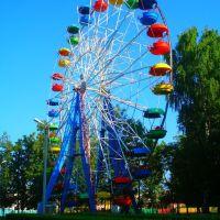 Колесо огляду у міському парку відпочинку, Верхнеяркеево