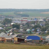 Вид с холма, Верхние Татышлы