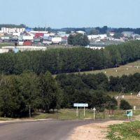 Вид с автотрассы, Верхние Татышлы