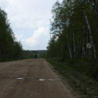 Конец всех ограничений на гравийной дороге Дуван-Караидель (05.2007), Дуван