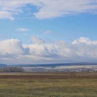 Вид на село Дуван, Дуван