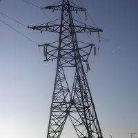 Вышка электропередач, бывшая электростанция(ДРЭС), Дюртюли