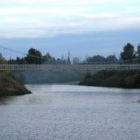 подвесной мост у д.Аргамак, Дюртюли