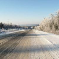 Зимняя дорога в Зилаир, Зилаир