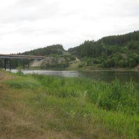 мост, на объездной дороге Зилаира, Зилаир
