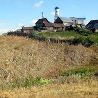 Зилаир, церковь, со стороны кладбища, Зилаир