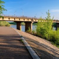Мост через Белую, Ишимбай