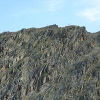 Скалы на берегу пруда, Кананикольское
