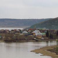 Вид с нефтебазы, Караидельский
