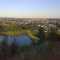Вид с горы, Киргиз-Мияки