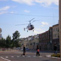 площадь вертолет, Кумертау