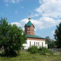 Пророко-Илиинский храм. Монастырь. Вид с юго-запада., Месягутово