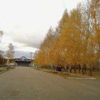 Аллея осенью, Нефтекамск