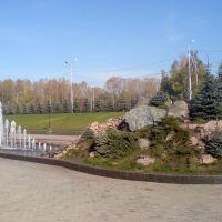 Фонтаны около университета, Октябрьский