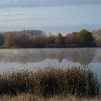 Озеро Ик-куль октябрьским утром (автор: Елена Туровская), Октябрьский