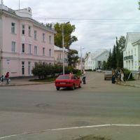 Пересечение Проспекта Ленина и ул. Свердлова, Октябрьский