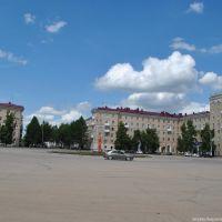Площадь г. Октябрьский 2012, Октябрьский