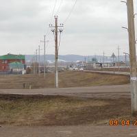 Въезд в Раевку, Раевский