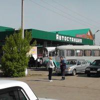 Раевка. Автостанция, Раевский