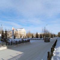 Возле офиса Башкирского медно-серного комбината (БМСК), Сибай