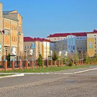 Сибайский институт БГУ, городская больница, Сибай